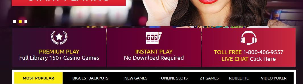 Club Player Casino - US Players Accepted! 2